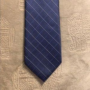 """Calvin Klein Men's Tie 100% Silk 3"""" wide"""